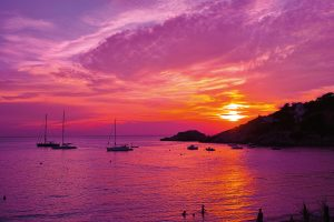 Violet sunset; Shutterstock ID 169384829; Purchase Order: -