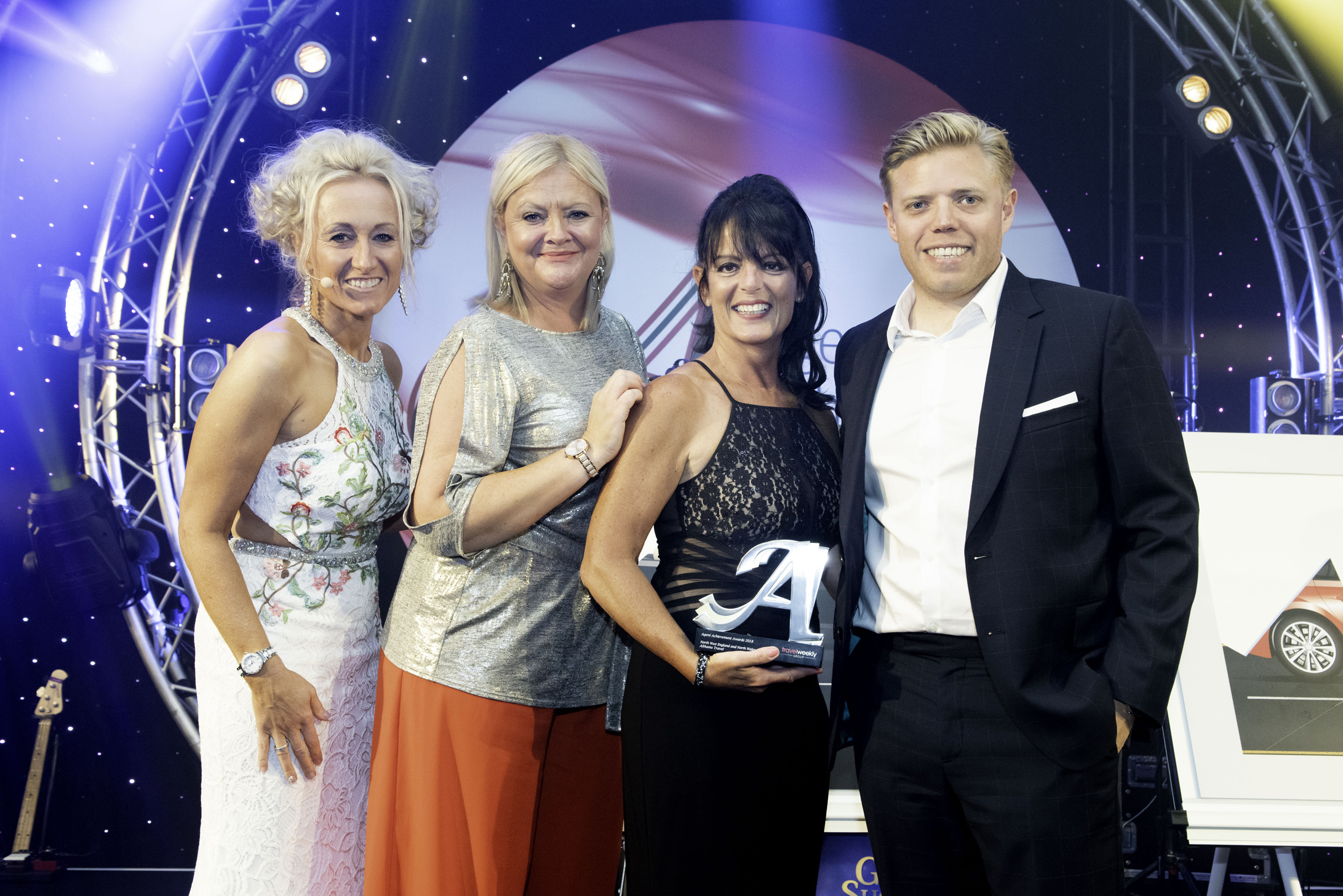 Sandra McAllister, Managing Director Receiving the Award