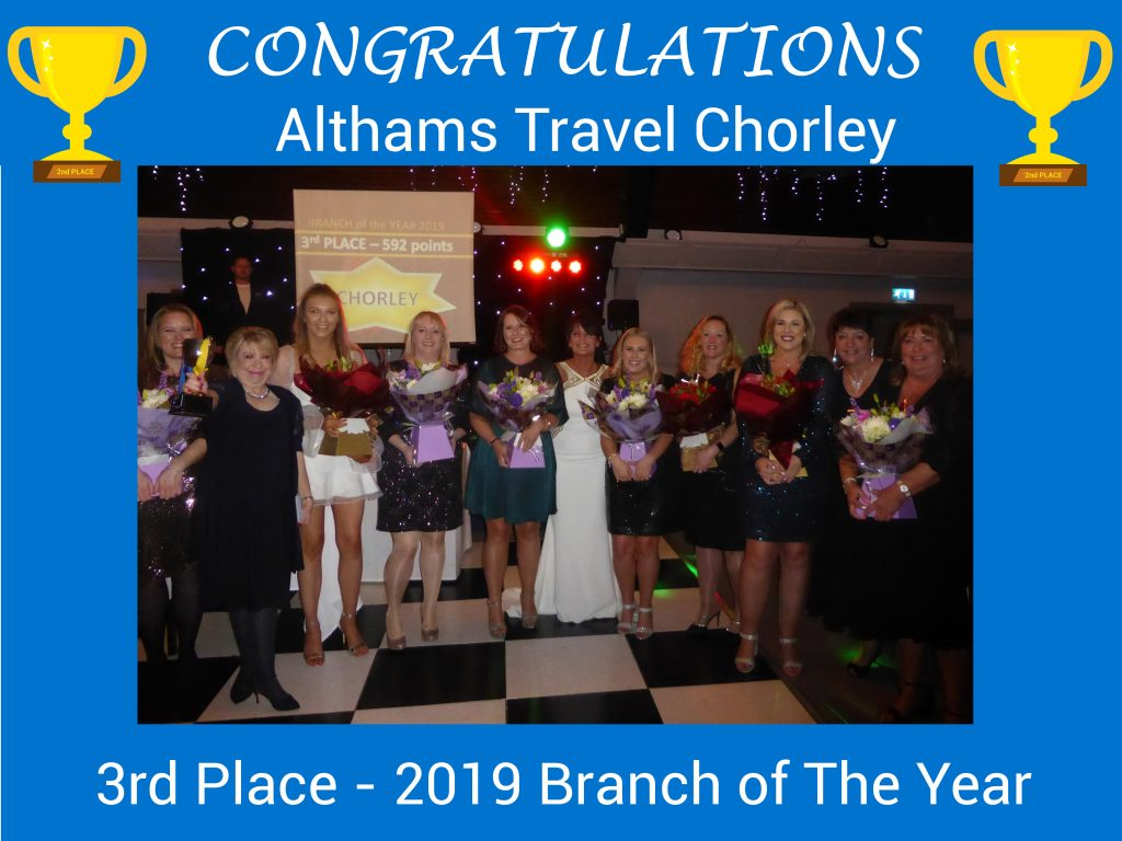 Chorley 3rd Branch of the Year