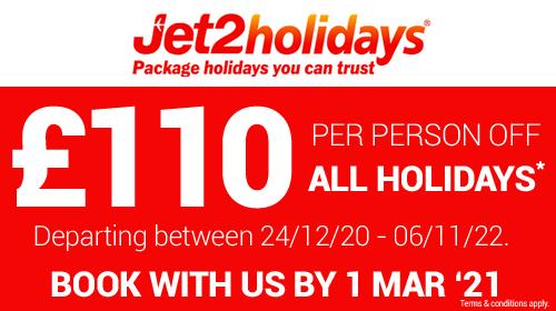 Jet2 offers !110