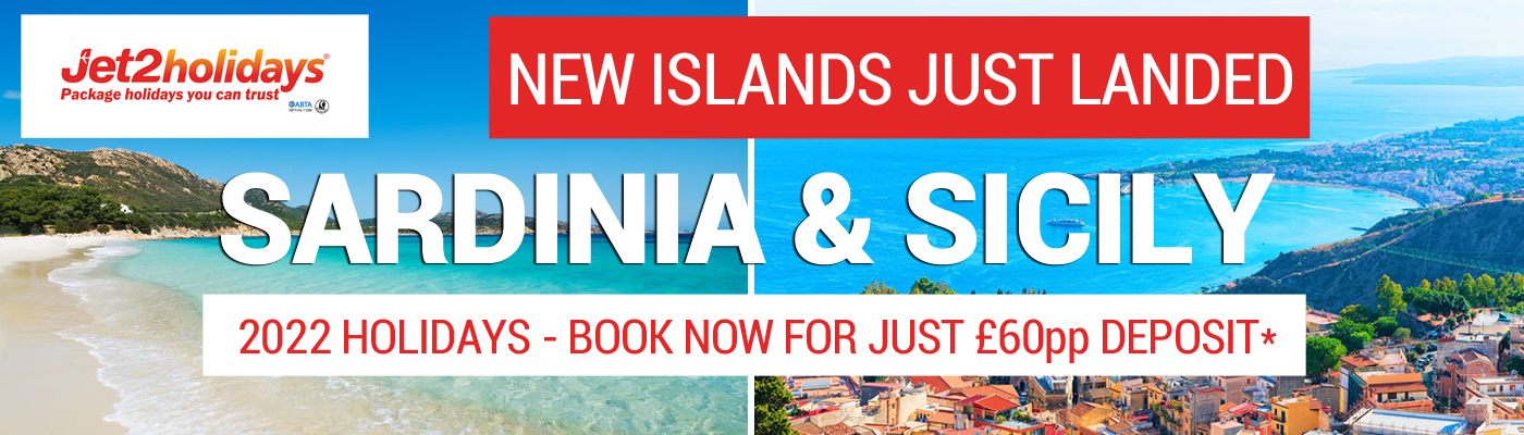 Jet2holidays Sardinia and Sicily