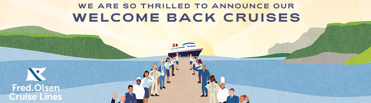 Welcome back cruises